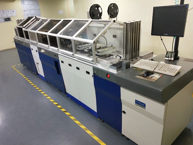 Set of SIM Card Production Equipment: DataCard MPR 5800, CardMatix GSM 7000, CardMatix CTS-03 plus DataCard Snooper SQ45